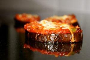Aubergine (Eggplant) Pizzas