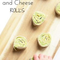 Avocado and cheese rolls