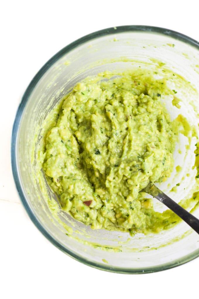 Guacamole Mixing Bowl