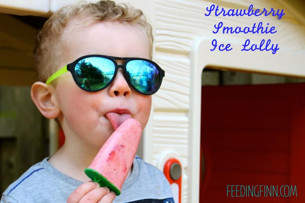 smoothie ice lollies Finn