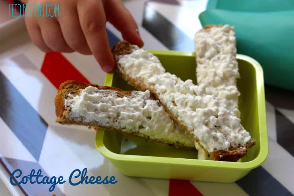 toast topping cottage cheese