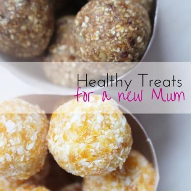 Healthy treats for a new mum