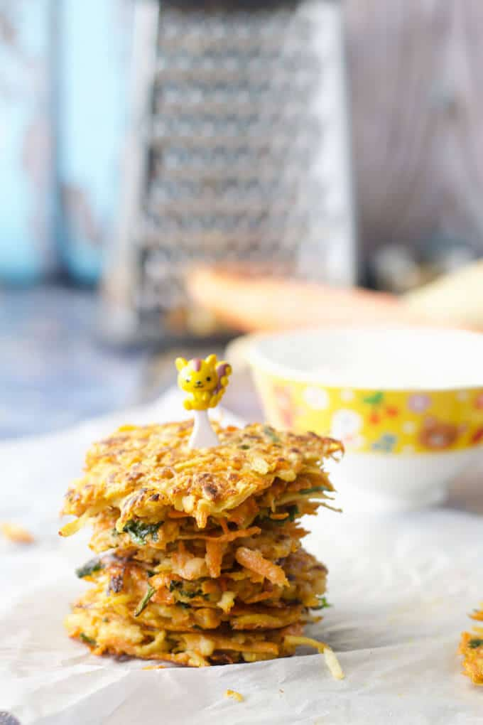 Carrot And Parsnip Fritters Healthy Little Foodies