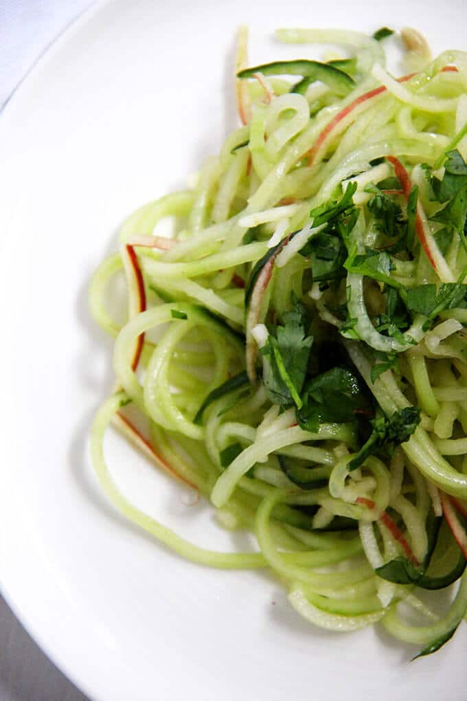 cucumber and apple salad 2