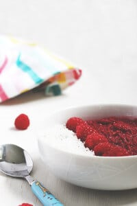 Raspberry Breakfast Quinoa