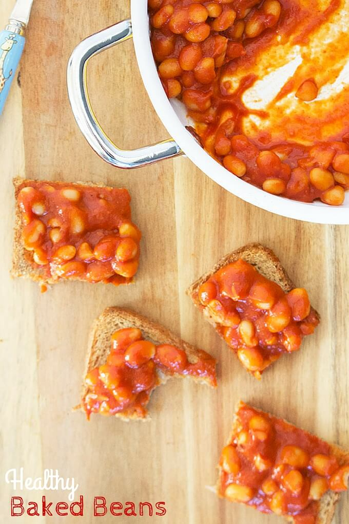 Healthy Baked Beans No salt or sugar so Perfect for kids and babies