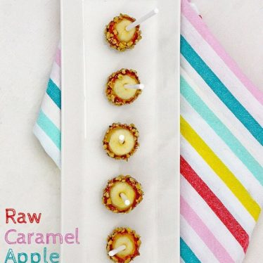 Raw Caramel Apple Pops Healthy