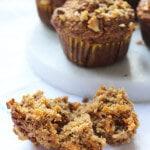 carrot apple muffins (no refined sugar)
