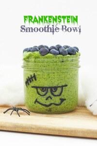 Frankenstein Smoothie Bowl