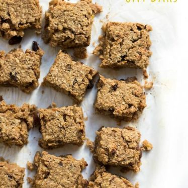 Pumpkin Oat Bars (no refined sugar) great for kids and for baby-led weaning (blw)