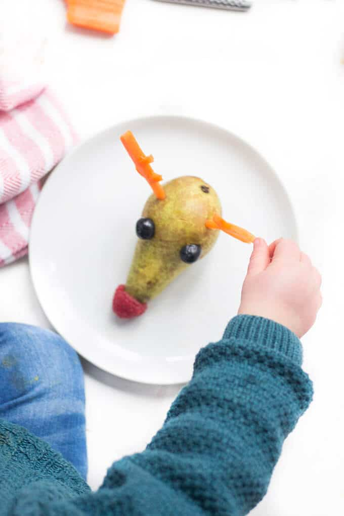 rudolph pear - a healthy