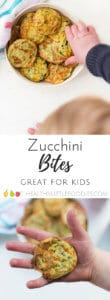 Zucchini bites (courgette bites) are a high protein snack great for kids. Great for the lunch box.