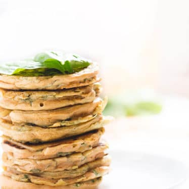 Lentil spinach Pancakes. A red split lentil batter made with spices and spinach fried into little pancakes. A protein packed finger food for kids or for blw (baby led weaning)