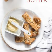 Homemade butter. Butter made in a jar, a great activity to get kids cooking