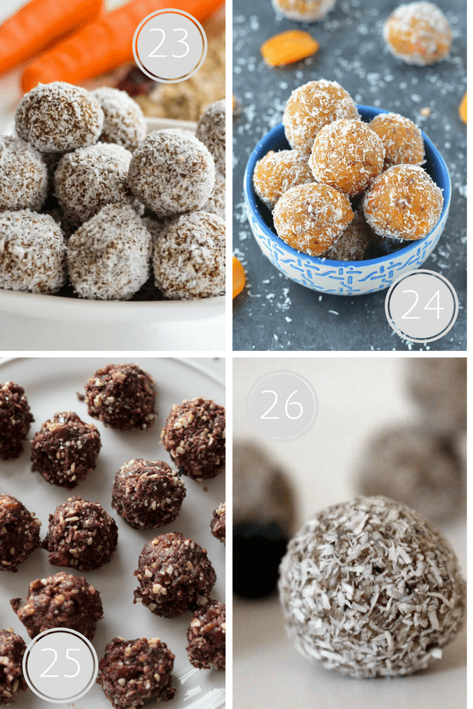 Delicious Kids' treat sweetened only with fruit. Delicious energy balls