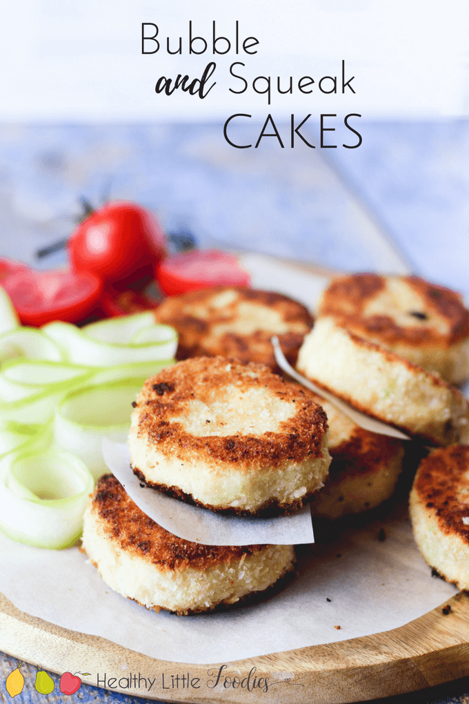 Bubble and Squeak cakes (potato and cabbage cakes) are a great way to use up leftovers and also a great way to add some veg to your kids' diet. Goof for toddlers and blw.