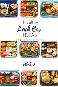 Healthy Lunch Box Ideas Week 2