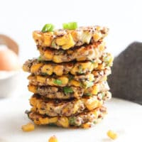 Sweetcorn Fritters Healthy Little Foodies