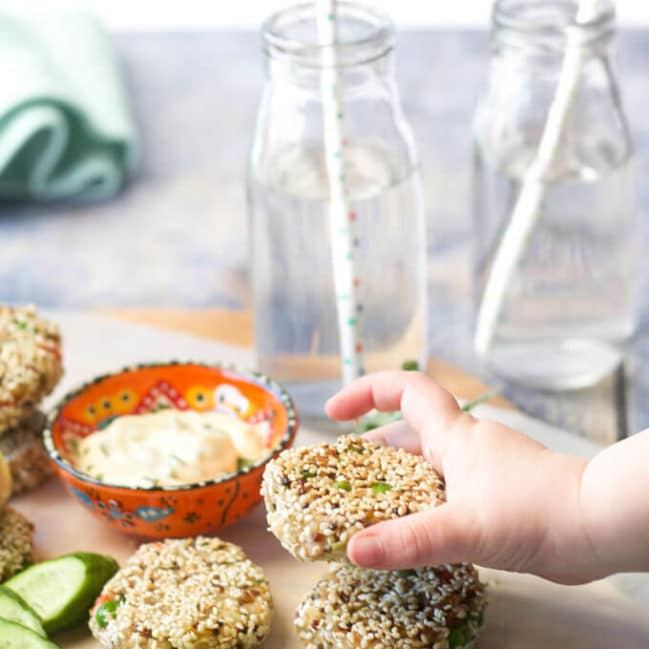 These tuna quinoa cakes are great as part of a main meal or can be popped into the lunch box the next day. Freezer friendly. Gluten Free. Dairy Free.