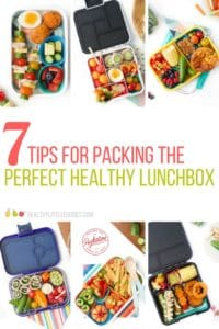 Healthy Lunchbox Ideas - 7 Tips for Packing a Healthy Lunchbox