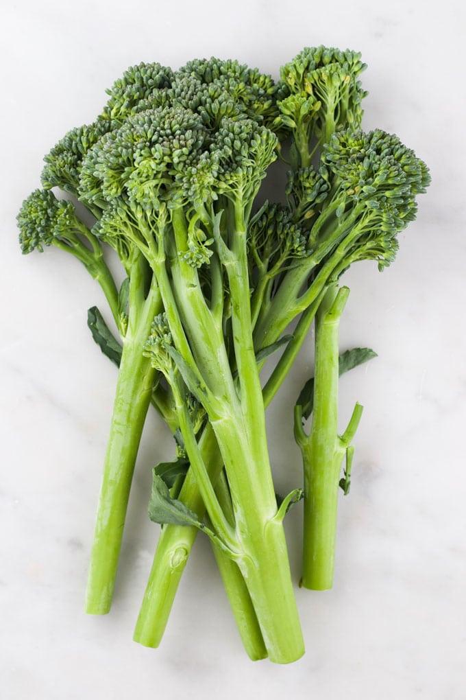 Raw Broccolini