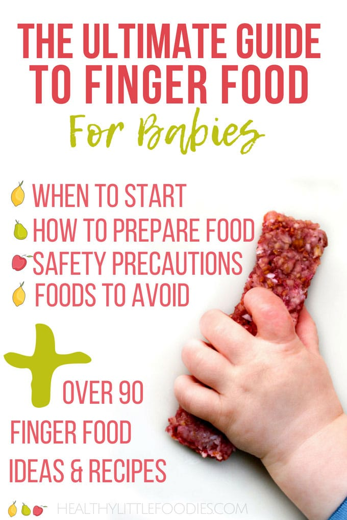 Finger Food For Babies The Ultimate Guide Healthy Little Foodies