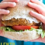 These easy Lentil Burgers are a great protein alternative to meat dinners. Can be made with a variety of lentils to achieve a different texture.