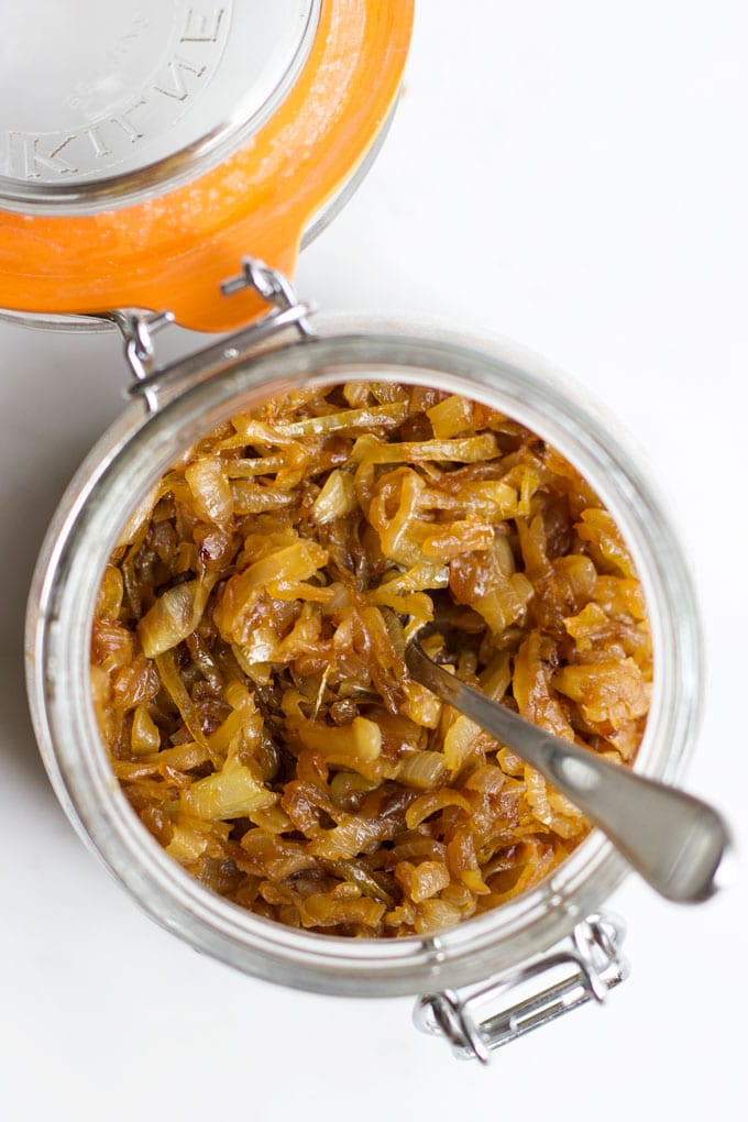 Caramelised Onions in Glass Jar