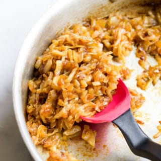 Caramelised Onions in Pan