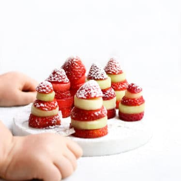 Strawberry and Melon Christmas Trees