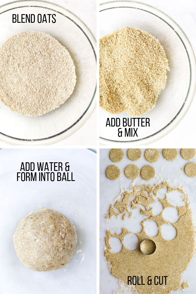How to Make Oatcakes - Process Shots