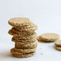 Stack of Oatcakes