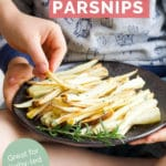 Roasted Parsnips Pin