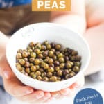 Roasted Peas Pin