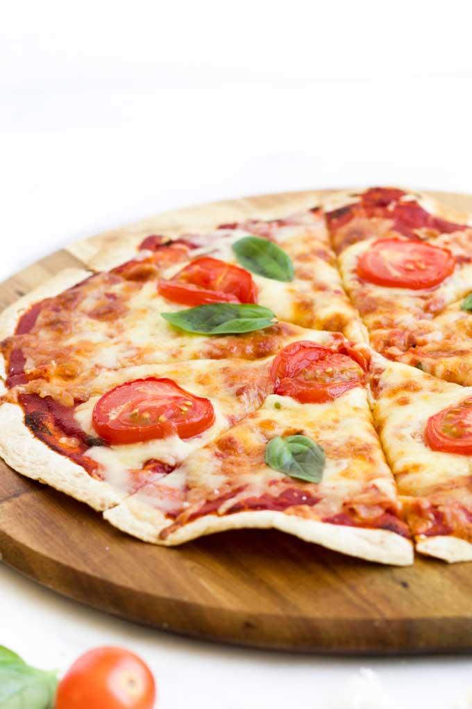 Tortilla Pizza Healthy Little Foodies