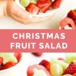 Christmas Fruit Salad Pin