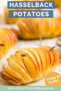 Hasselback Potatoes Short Pin