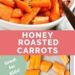 Honey Roasted Carrots long pin