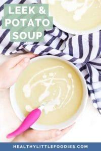 Leek and Potato Soup Short Pin