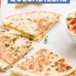 Apple and Cheese Quesadillas Short Pin