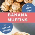 Baby Banana Muffins Long Pin
