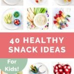 Healthy Snack Ideas Long Pin