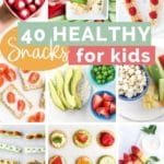 40 healthy Snacks for Kids Pin 3