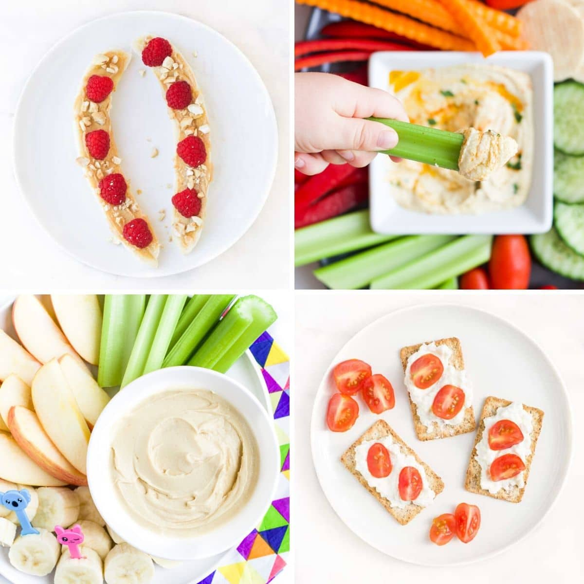 Four Healthy Snack Ideas for KIds