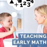 Teaching Early Math Through Cooking Pin