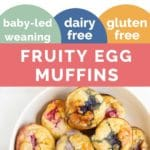 Fruity Egg Muffins Long Pinterest Pin