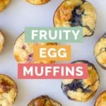 Fruity Egg Muffins Pinterest Pin 3