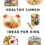 Healthy Lunch Ideas Pin