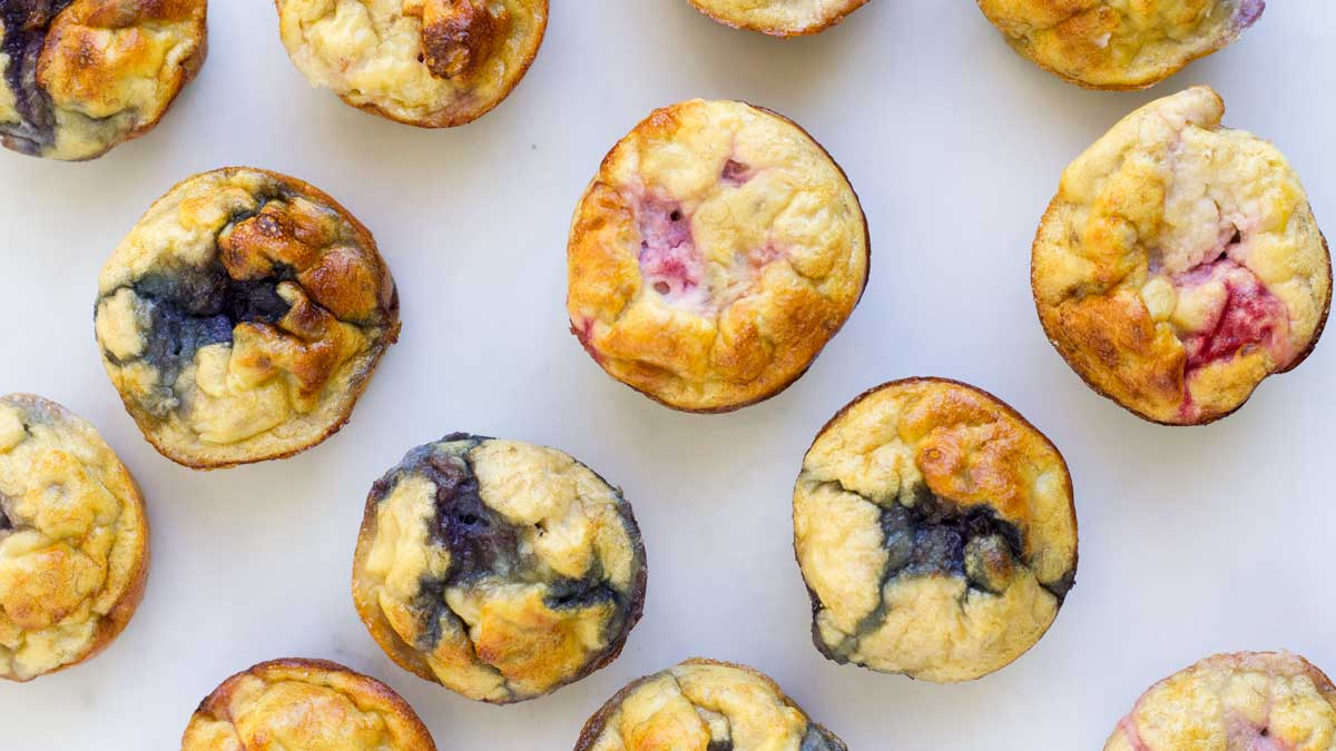 Fruity Egg Muffins With Only 3 Ingredients