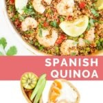 Spanish Quinoa Long Pinterest Pin